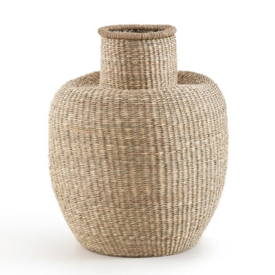 Ваза Wicker Vase Natural Color big